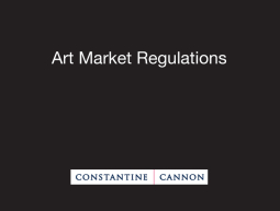Art Market Regulations